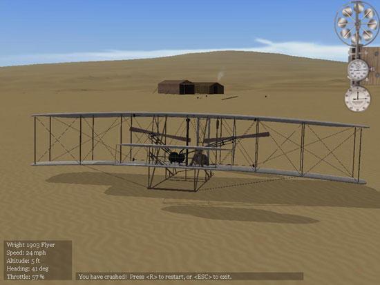 1903 landed