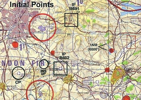 Tactical UK Map