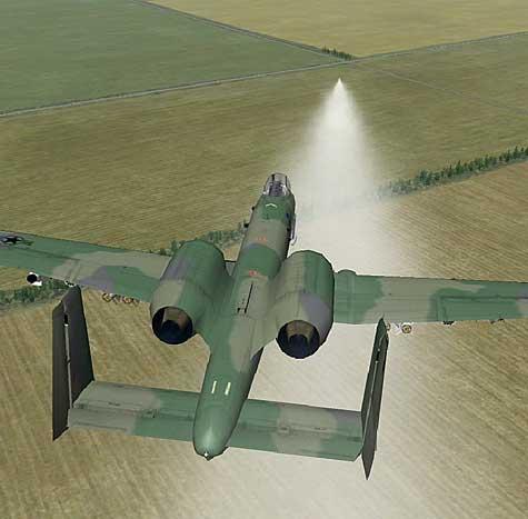 FAC Marking With Smoke Rocket