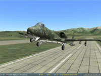...then gently rotate my 727 off the runway...