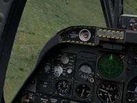 ...and the Tarantul's radar.