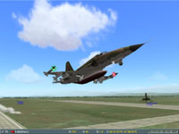 Their F-5s have scrambled.