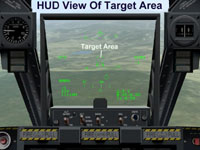 HUD View Of Target Area