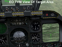 EO TVM View Of Target Area