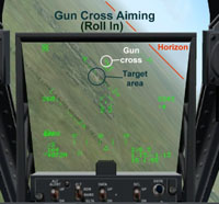 Gun Cross Aiming (Roll In)