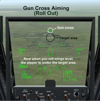 Gun Cross Aiming (Roll Out)