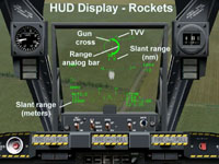HUD Display - Rockets
