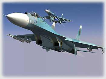 Su-27's