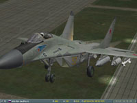 ...the MiGs rocketed off the airstrip into the grey sky.