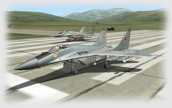 ....the Commander in 88 Grey, then Vasily in 58 Red, slammed throttles against the stops and sent their MiGs rocketing down the runway.