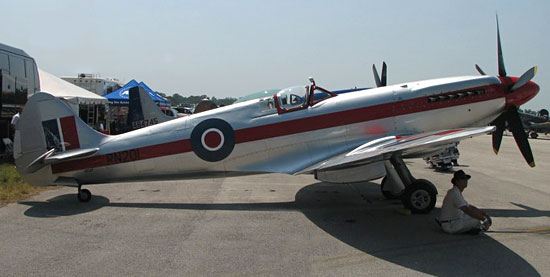 Has there ever been an airplane designed with better lines than the Spitfire?