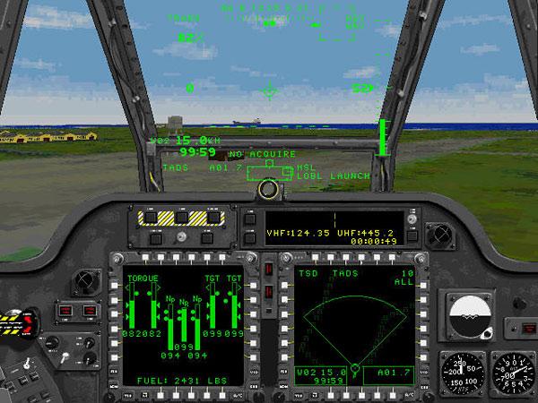 Pilot Cockpit View