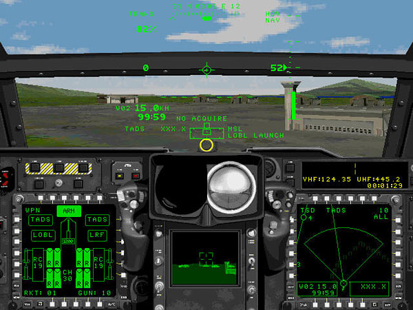 Co-Pilot Cockpit View