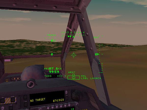 Virtual Cockpit View for Pilot