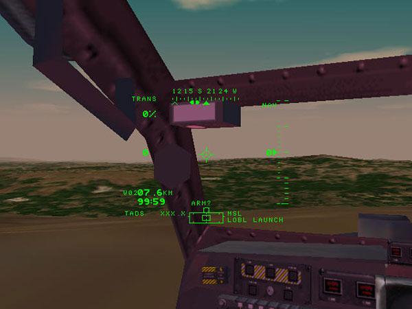 Virtual Cockpit View for Co-Pilot