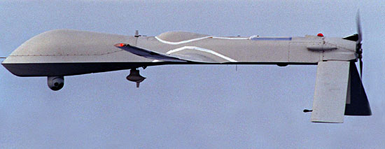 The RQ-1 Predator from the mid 1990s.