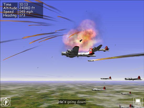 2 More Focke-Wulfs Going Down