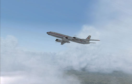 On the way out of Tashkent, the thunderstorms were waiting.