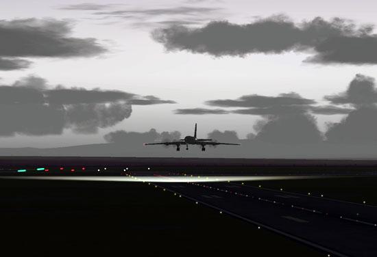 Pre-dawn departure from Rome.