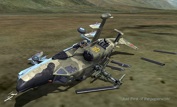 SimHQ Review: DCS: Black Shark