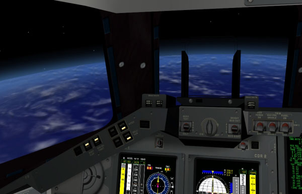 View While Orbiting