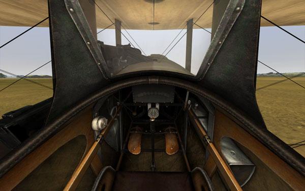 Nieuport Cockpit