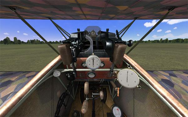 Fokker Cockpit
