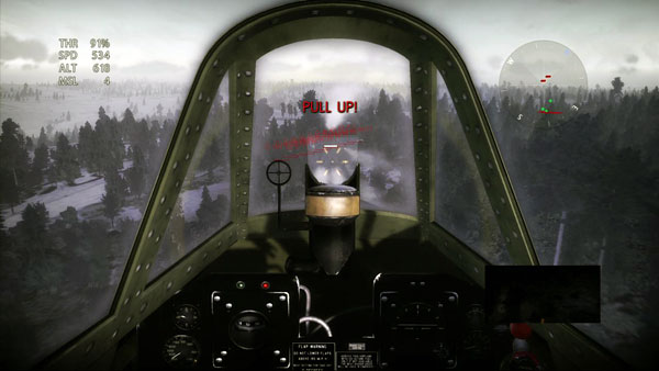 P-47 cockpit for all.