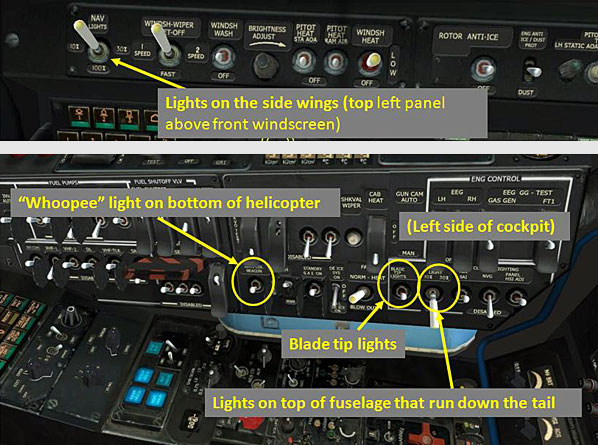 Navigation and formation lights