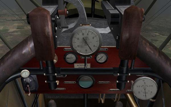 Roland CII cockpit