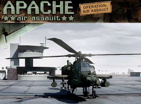 Splash Screen - Apache Air Assault