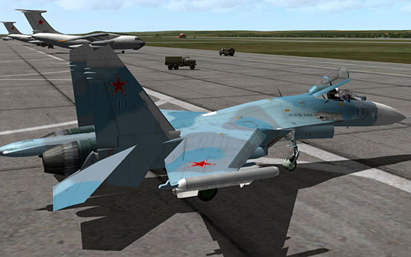 Flaming Cliffs 2.0 - Su-27