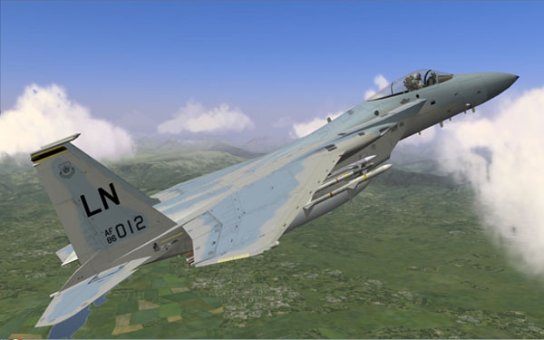 Flaming Cliffs 2.0 - F-15C
