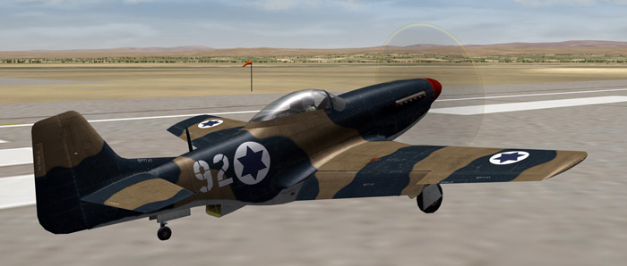 Mustang P-51D - Suez Expansion for the SF2 Series