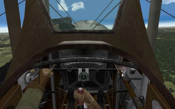 Nieuport 28 Interior