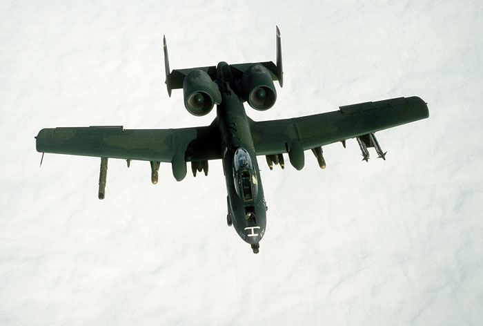 "The A-10A Thunderbolt II ""Warthog"""