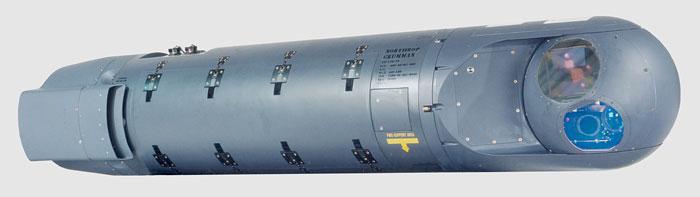 The Northrop Grumman Litening AT Targeting Pod