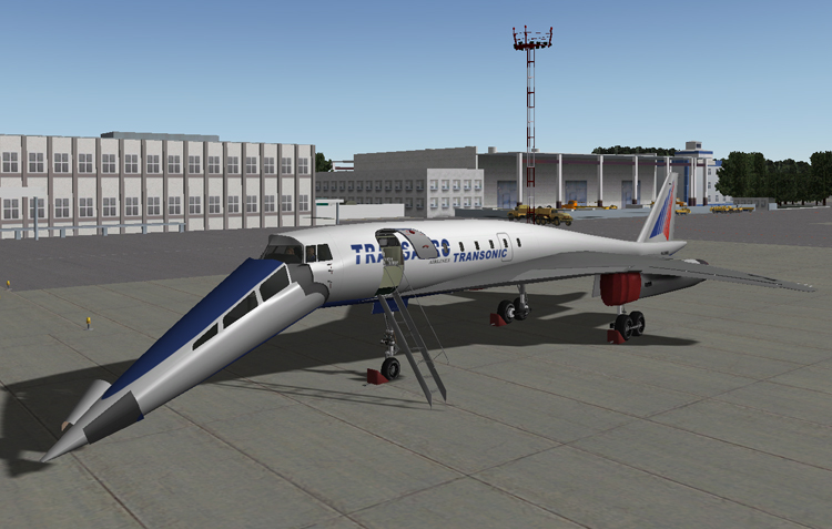 Review: Tu-444 (SSBJ) for X-Plane 9.x