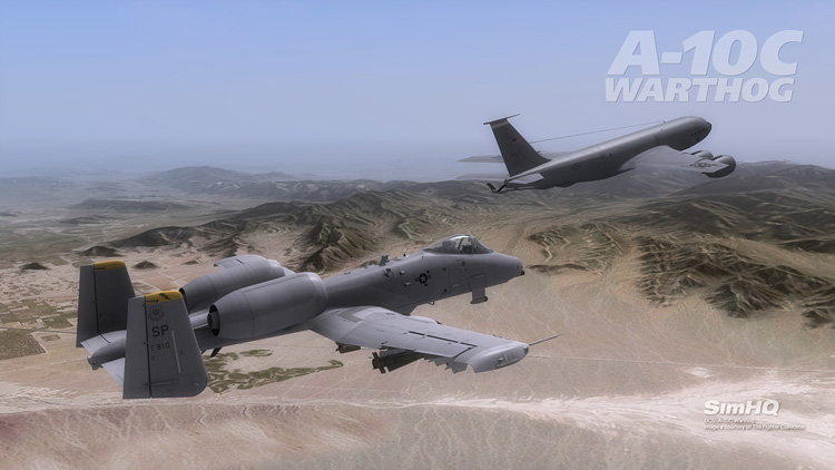 DCS: A-10C Warthog - A-10C with new KC-135 tanker.