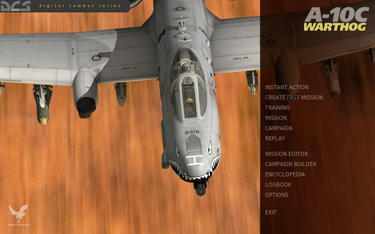 DCS: A-10C Warthog - Splash Screen