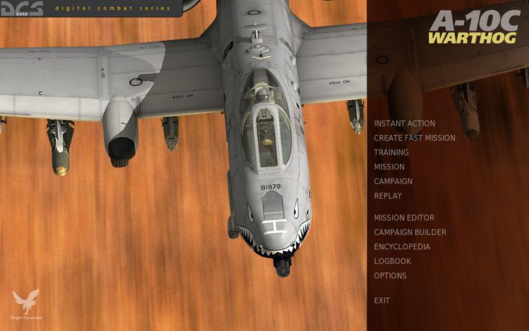 DCS: A-10C Warthog - Splash Screen