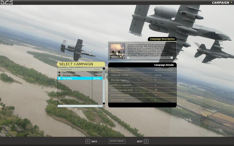 DCS: A-10C Warthog - Campaign