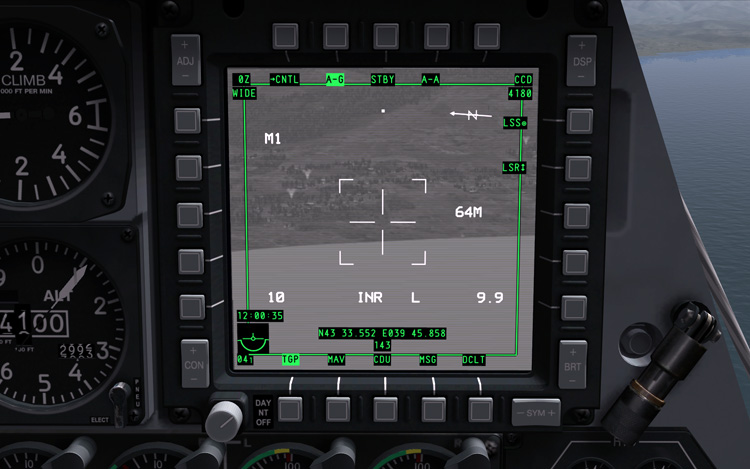 DCS: A-10C Warthog - TGP CCD
