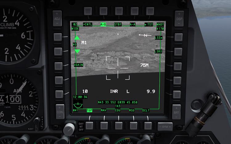 DCS: A-10C Warthog - TGP FLIR