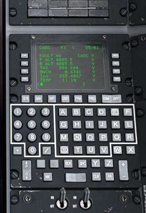 DCS: A-10C Warthog - Control Data Unit (CDU)