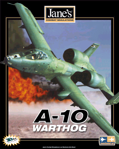 Proposed Jane's A-10 Warthog US packshot.