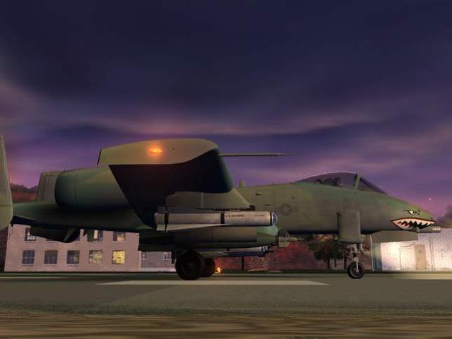 Jane's A-10 Warthog - Rendered image