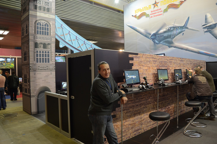 "The IL-2 Sturmovik National Championship at ""Igromir 2010"""