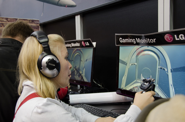 """Another young lady virtual pilot."""