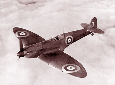 Supermarine Spitfire Mk I - From the 19 Squadron